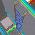 steel ladder detailing