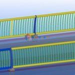 Handrail modeling