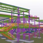 Structural detailing for school building