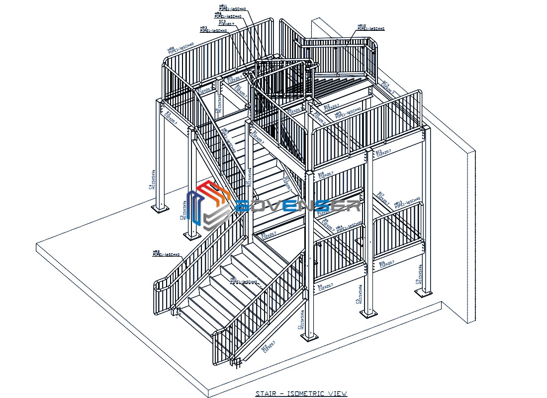 staircase modeling