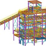 Steel detailing services for Swiifter Tower