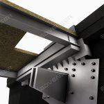 Steel bracket detailing