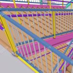 Structural steel stair detailing
