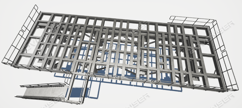 Industrial structural detailing