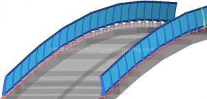 miscellaneous detailig hand rail